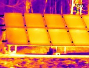 thermographie panneaux photovoltaiques