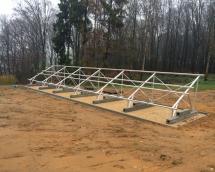 installation photovoltaïque au sol